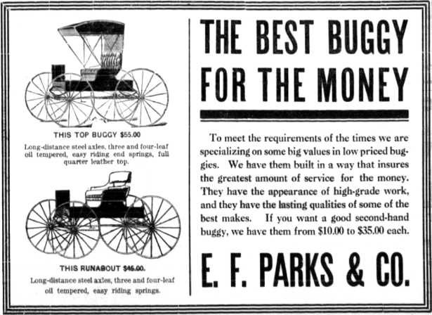E.F. Parks Buggies